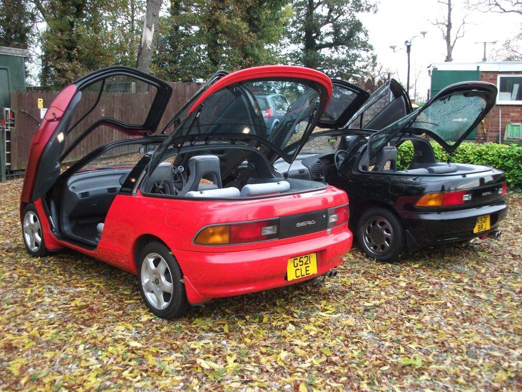 & Toyota Sera 1.5 Auto Gull Wing Doors (rare)   PWMotorcraft